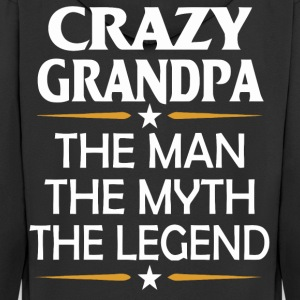Crazy Grandpa funny shirt - Men's Premium Hooded Jacket