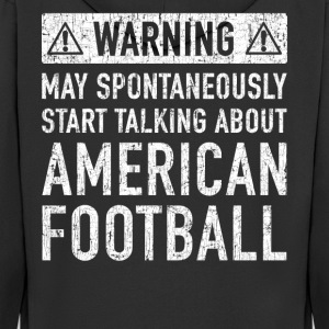 American Football Gift: Available Here - Men's Premium Hooded Jacket