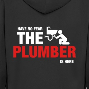 Har No Fear The Plumber Is Here - Premium Hettejakke for menn
