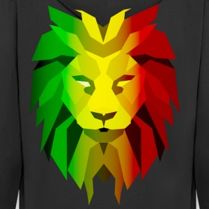 Rasta Lion - Men's Premium Hooded Jacket