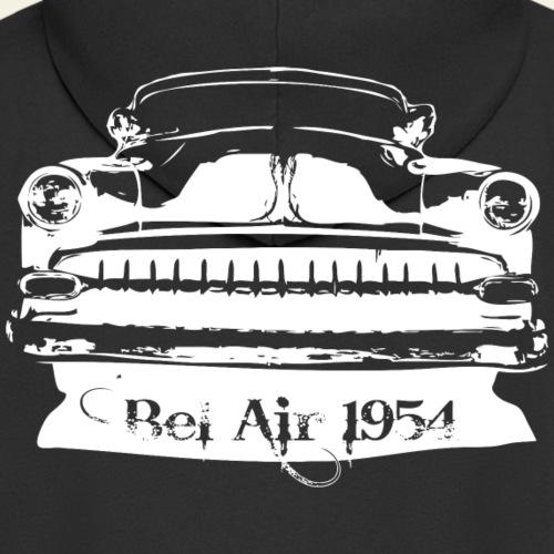 bel air 54 white - Herre premium hættejakke