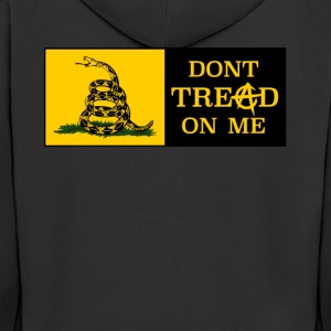 Dont Tread on ME anarco-capitalismo - Felpa con zip Premium da uomo