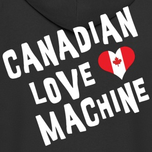 Canadian Love Machine - Men's Premium Hooded Jacket