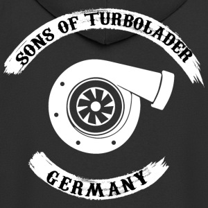 Sons of Turbolader - Germany - Men's Premium Hooded Jacket