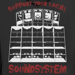 support your local soundsystem - Männer Premium Kapuzenjacke