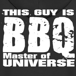 This Guy is BBQ Master of universe - Grillmeister - Männer Premium Kapuzenjacke