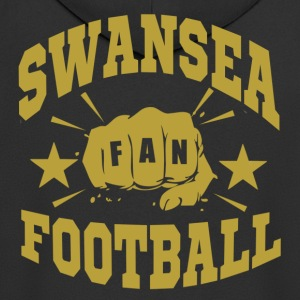 Swansea Football Fan - Premium Hettejakke for menn