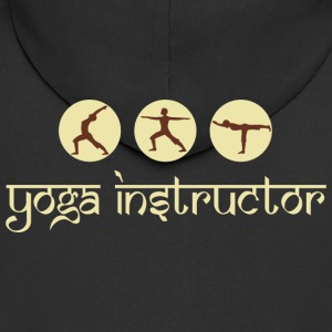 Yoga Instructor - Men's Premium Hooded Jacket