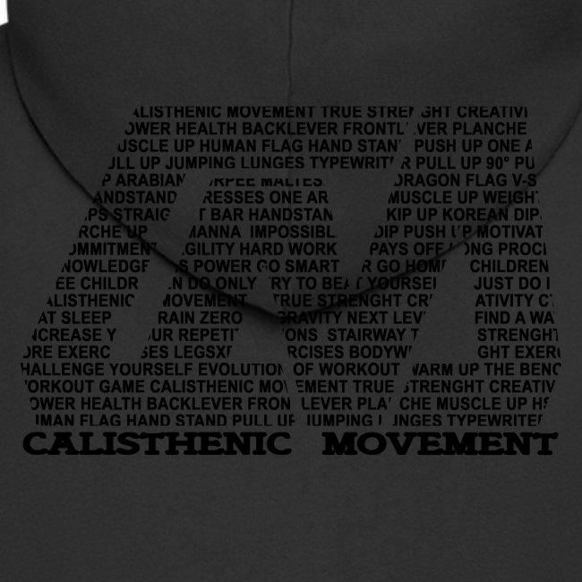 CM Logo aus Text schwarz