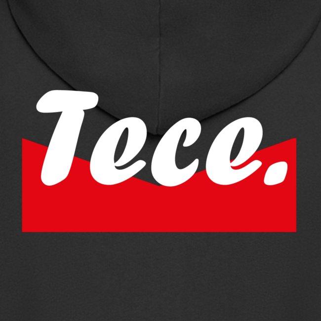 Tece red logo Sweater