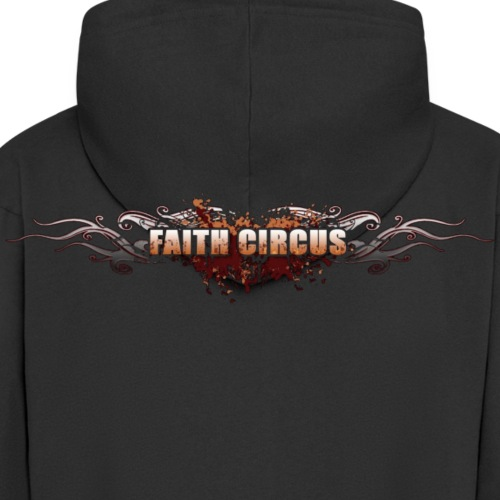 FAITH CIRCUS 2008 Logo - Men's Premium Hooded Jacket