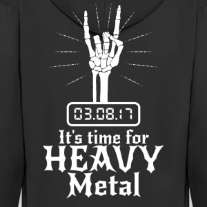 It's Time for Heavy Metal - Männer Premium Kapuzenjacke