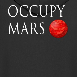 Occupy March Space - Men's Premium Hooded Jacket