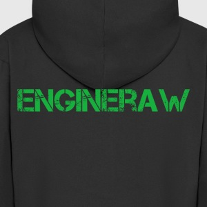 Engineraw - Men's Premium Hooded Jacket
