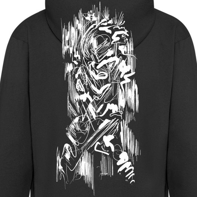 Samurai / White - Abstract Tatoo