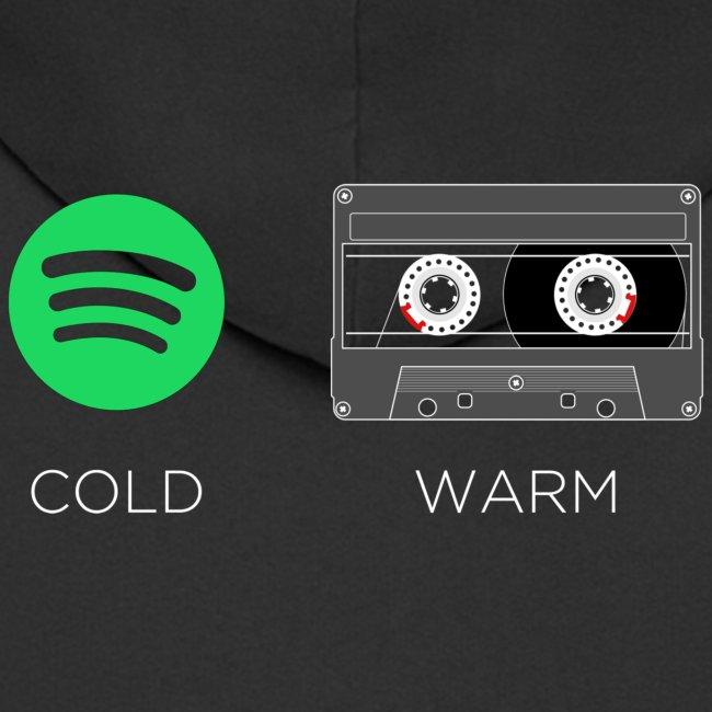Spotify cold - warm cassette