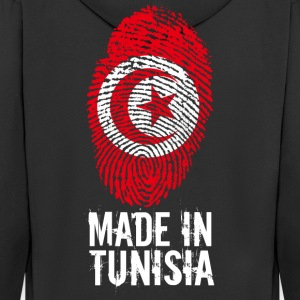 Made in Tunisia / Gemacht in Tunesien تونس‎‎ ⵜⵓⵏⴻⵙ - Männer Premium Kapuzenjacke