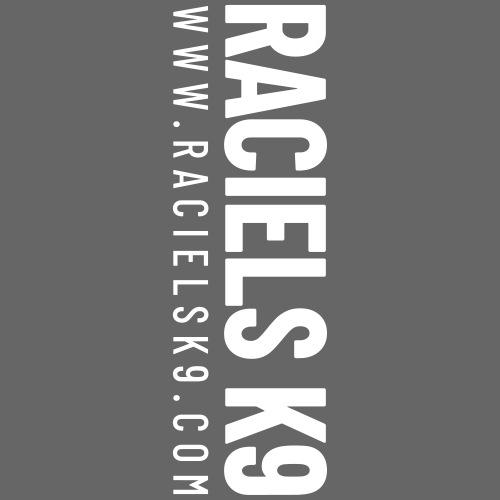 Raciels K9 TEXT & HEAD - Miesten premium vetoketjullinen huppari