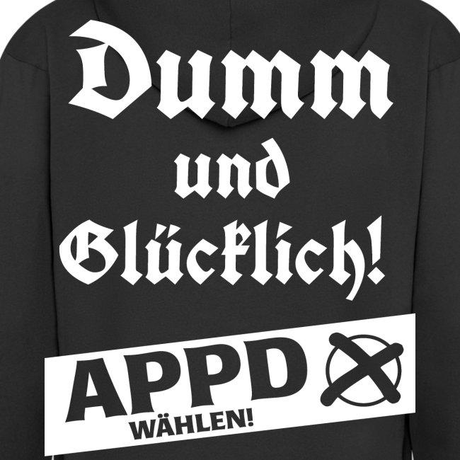 Dumm und glücklich - APPD wählen!