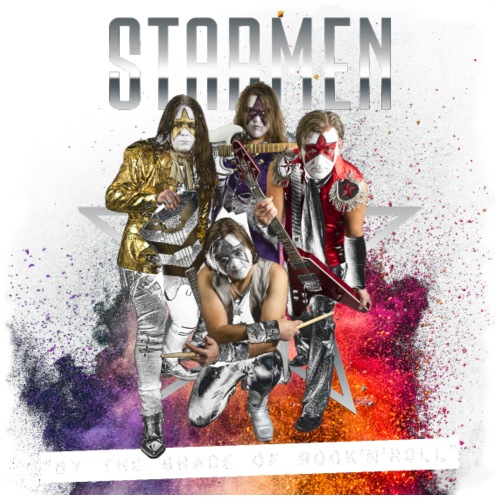 Starmen - By The Grace Of Rock'n'Roll - Men's Premium Hooded Jacket