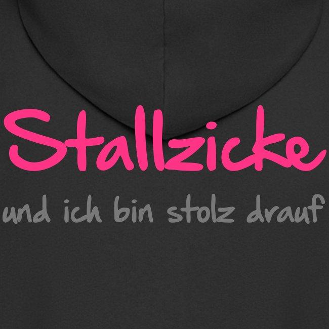 Vorschau: Stallzicke - Männer Premium Kapuzenjacke