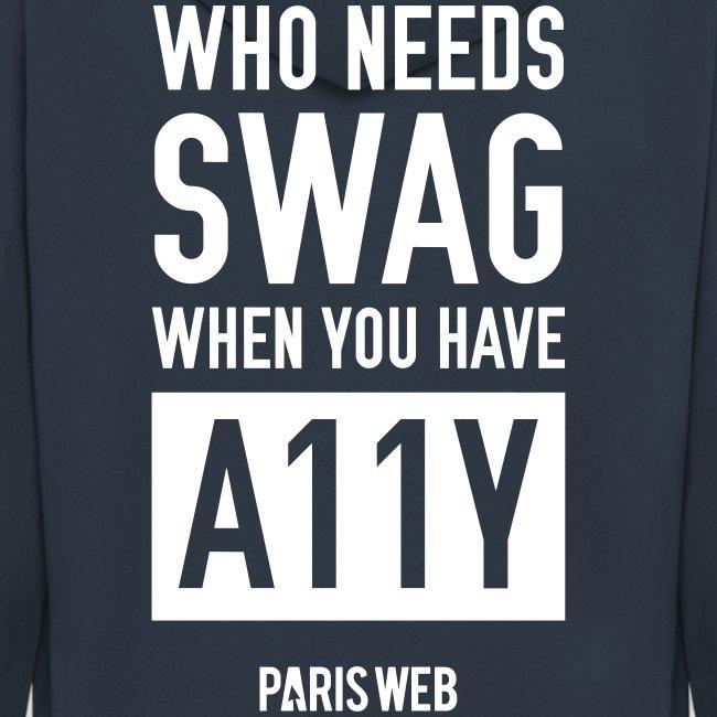 Who need swag Sweet