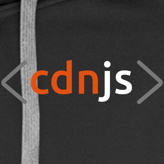 cdnjs Subtle Logo (Zip-Up Hoodies)