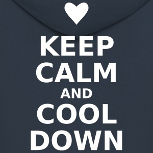 Keep calm and cool down - Men's Premium Hooded Jacket