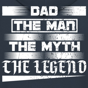 Father! Father! Papi! Dad! Legend! - Men's Premium Hooded Jacket