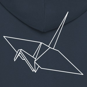 ++ Origami Crane ++ - Men's Premium Hooded Jacket