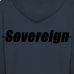 Sovereign Dash nero - Felpa con zip Premium da uomo