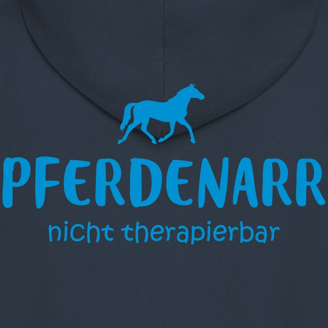 Vorschau: Pferdenarr - Männer Premium Kapuzenjacke