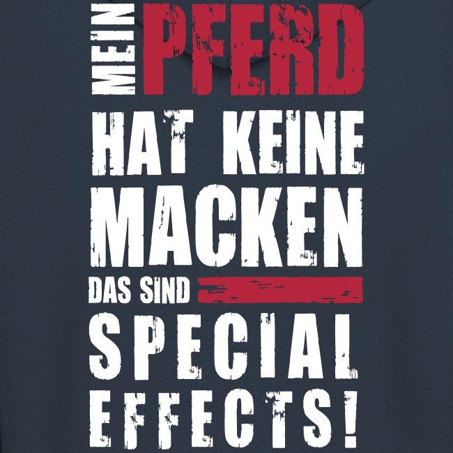 Vorschau: Keine Macken Pferd - Männer Premium Kapuzenjacke