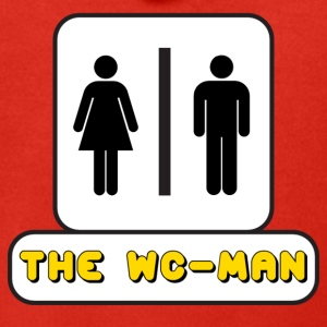 Logo WC-Man YouTube - Felpa con zip Premium da uomo