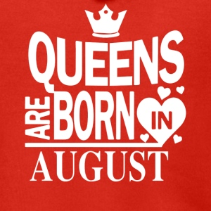 Birthday Shirt - Queens are born in August - Men's Premium Hooded Jacket