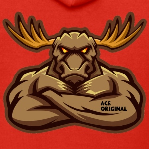 Ace Original Moose Mascot - Premium Hettejakke for menn