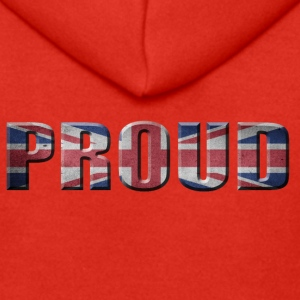 PROUD ENGLAND PRIDE GREAT BRITIAN - Men's Premium Hooded Jacket