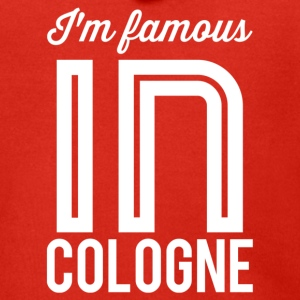 Im famous in cologne white - Men's Premium Hooded Jacket