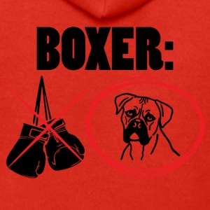 Dog / Boxer: Boxer - Men's Premium Hooded Jacket
