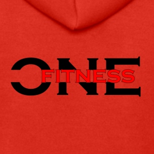 ONE FITNESS Logo (Without Globe) - Herre premium hættejakke