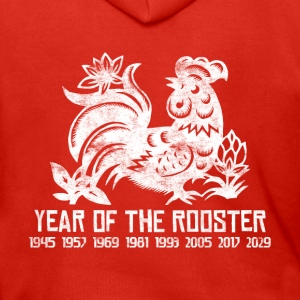 Years of the Chinese Rooster - Men's Premium Hooded Jacket