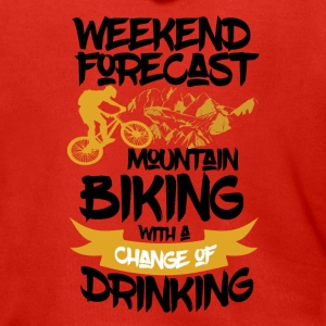 Mountainbike & Drinks ahead - Weekend Forecast - Männer Premium Kapuzenjacke