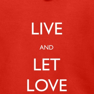 Live And Let Love - Men's Premium Hooded Jacket