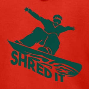 SHRED IT - Boarder Power - Men's Premium Hooded Jacket