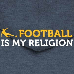 Football Quotes: Soccer Is My Religion - Men's Premium Hooded Jacket