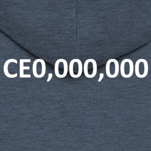 CEO, Entrepreneur 000,000 - Men's Premium Hooded Jacket
