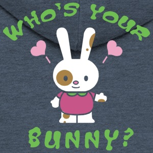 Easter Who's Your Bunny - Men's Premium Hooded Jacket
