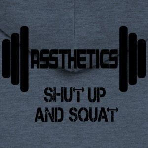 Assthetics - Shut up og Squat - Herre premium hættejakke