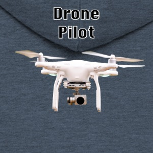 drone pilot - Men's Premium Hooded Jacket