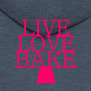 LiveLoveBake extra large - Men's Premium Hooded Jacket